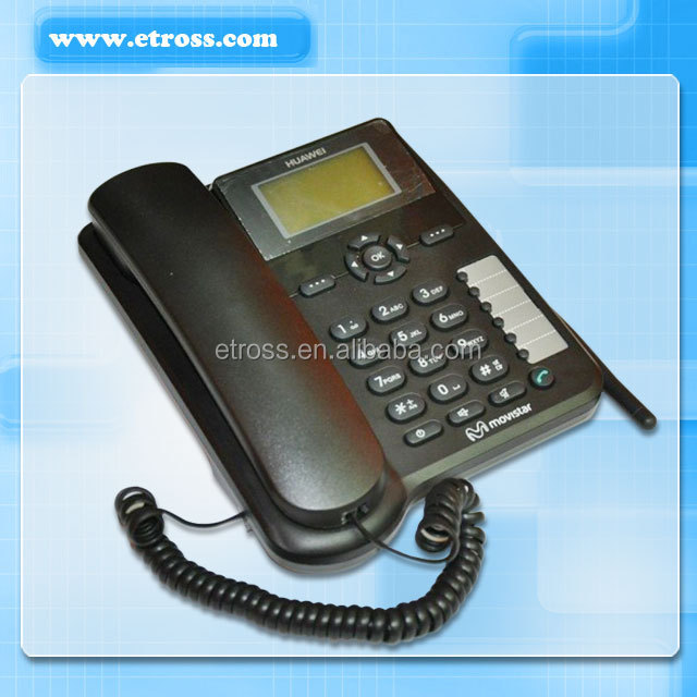 fixed wireless desktop phone/ FWP (HUAWEI ETS6630) Support caller ID, call forwarding, call waiting, call holding