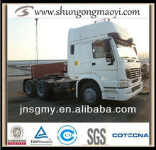china truck howo tractor for sale