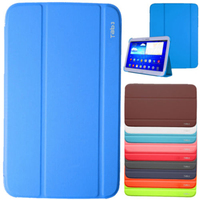 PU Leather Folding Folio Stand Case Cover For Samsung Galaxy Tab 3 P5200 P5210