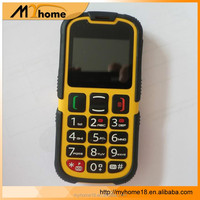 2.2inch Long time standby Multi language GSM Waterproof Rugged old fashioned mobile phone with camera keyboard phone