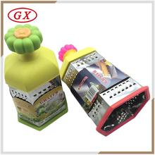 High quality multi function 4 side ice box grater for ice chocolate lemon onion ginger