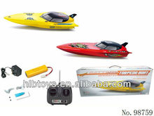 3CH Torpedo RC Racing Boat with chargable battery