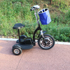 Front suspension 500w folding electric scooter for handicapped mini bike