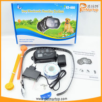 Hotest TZ-KD660 dog electronic fencing system with waterproof and rechargeable receiver collar, high quality TPU collar belt