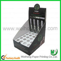 Ball pen display paper box paper case