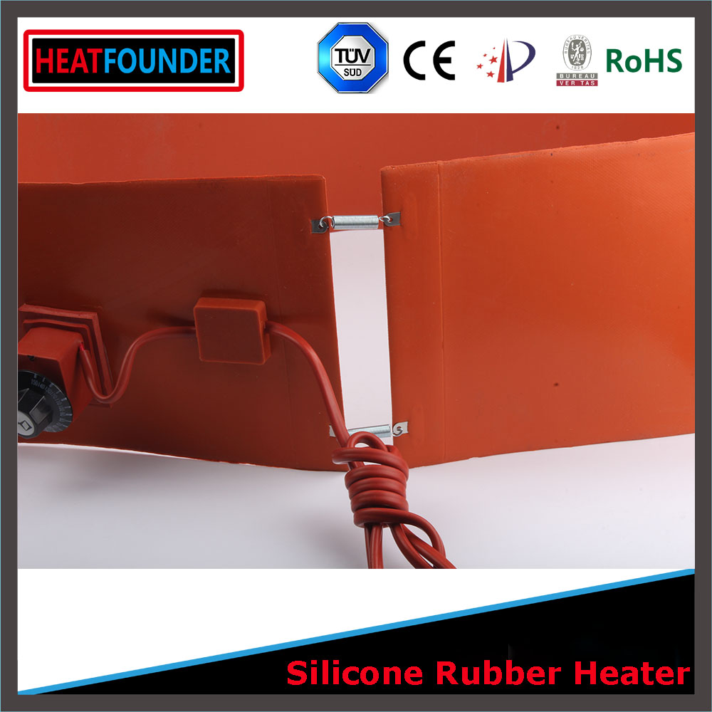 CE ROHS Solar Stock Tank Heater Silicone Rubber Flexible Heater, Heating Elements