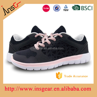 alibaba express china air mesh breathable black sport shoes