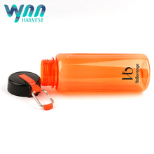 Leak proof flask shaped plastic water bottle egg eastman tritan