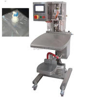 Automatic BIB bag in box filler and capper for liquid/syrup/milk/concentrated seasonings/additives/alcoholic beverage with CE
