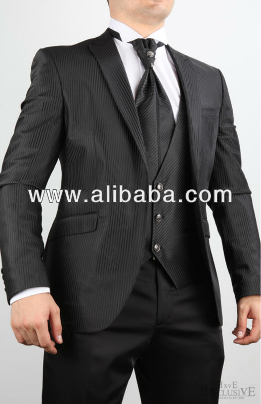 Black stripe, Wedding suit, men suits, weding dress, wedding set
