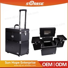 Factory Price Professional Hair Beauty Aluminum Salon Case