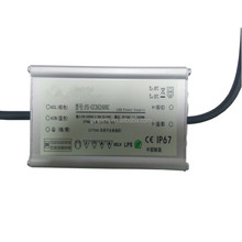 constant current 2400ma waterproof led driver ip67 80w with TUV CB ,GS MARK saa ctick