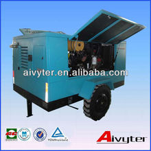Husky Diesel Mobile Air Compressor for Mining