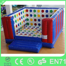 Exclusive Manufacturer Special Inflatable Bouncer With Twister Body Games
