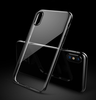 Factory Custom Clear Transparent Plastic Hard Shell PC Material Phone case Cover For IPhone 5 6 7 8 X