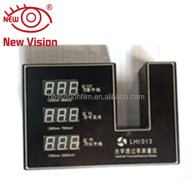 new vision high quality solar film IR UV transmission test window tint meter