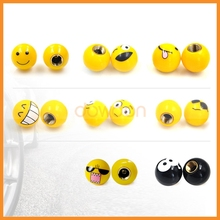 Wholesale Price Different Patterns Ball Tyre Wheel Valve Cap Bicycle Dust Stems Tire Cap