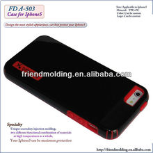 TPU+PC Combo cell Phone Case For IPhone 5