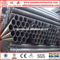 Electric welded long seam pipe round