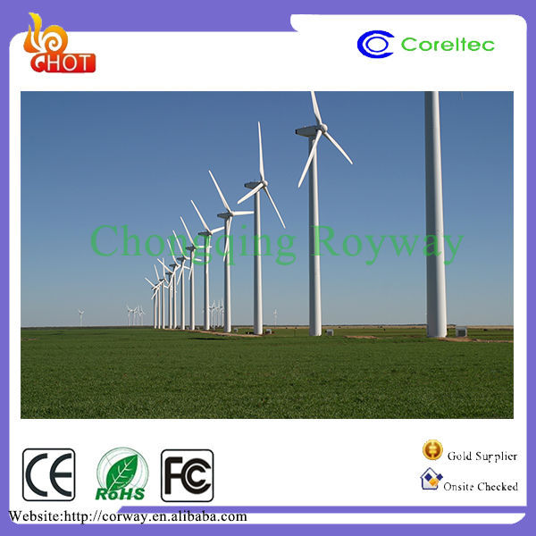 horizontal shaft 100kw wind turbine generator on-grid wind generator Silent and Safe System