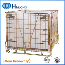 PET Preform galvanized welded cage wire mesh
