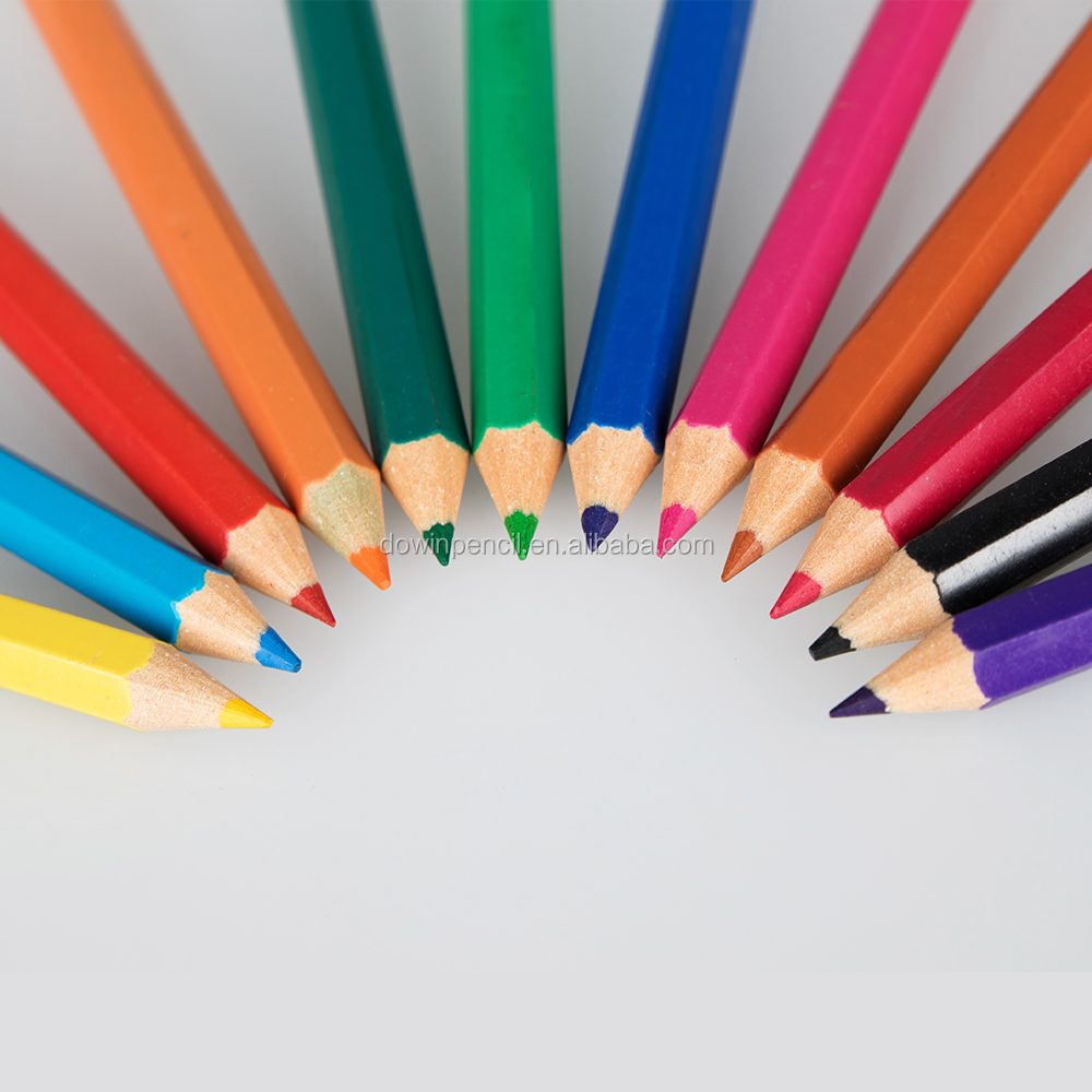 "3.5"" Resin DS-001 Plastic Color Pencil"