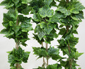 Top Quliaty Artificial Grape Garland Grape Leaves Hanging Vine