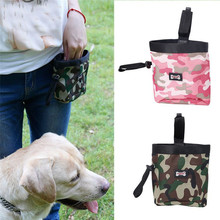 Pet Treat Tote with Poop Bag Outdoor Dog Treat Bag for Training