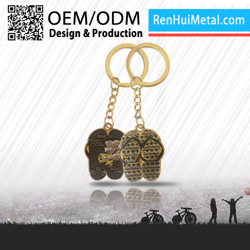 Fashion design OEM brand custom cheap popularity metal key