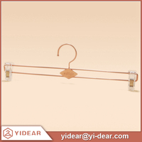 Copper Rose Gold Metal Double Wire Hangers for Homewear & Pants