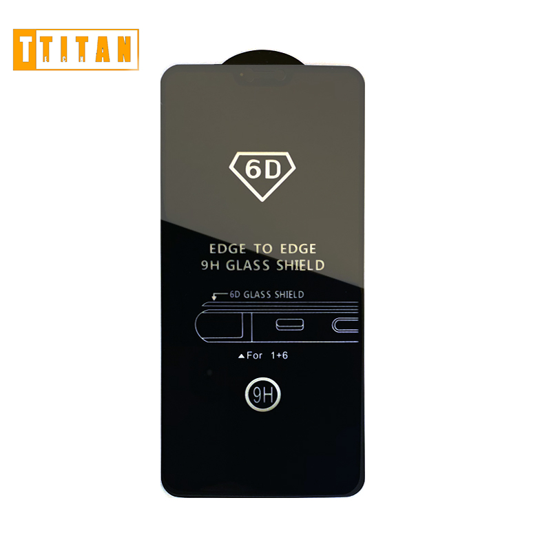 9D 6D 10D tempered glass full cover edge mobile phone screen protector for ONE PLUS1+5 <strong>1</strong>+6 /<strong>1</strong>+6T