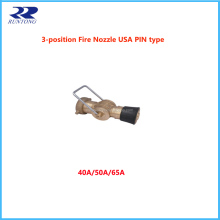 Marine USA PIN Type 3 Position Fire Hose Nozzle