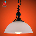 round frosted glass pendant lampshade