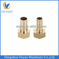 G 1/2 Hose Brab Fitting OD14mm Factory Direct.Copper Brass Pipe Fitting. China Manufacture
