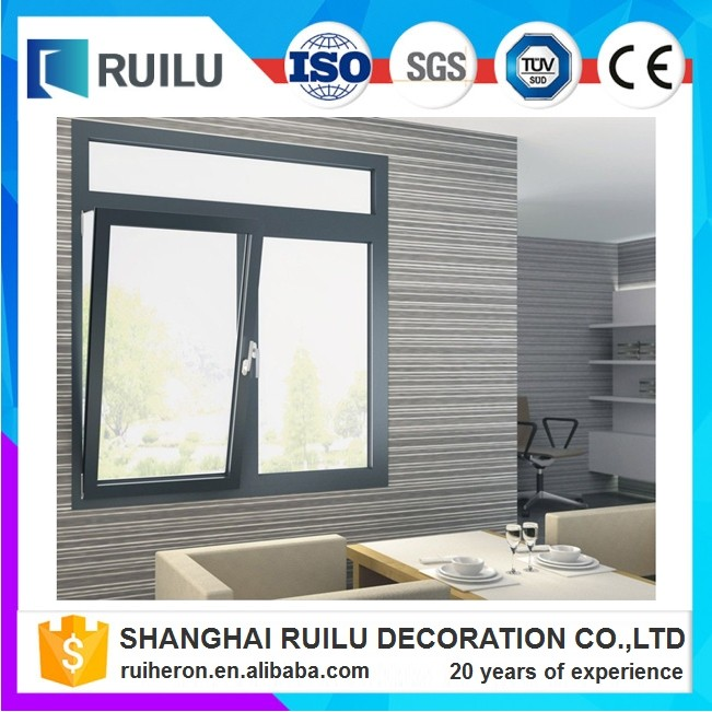 Low-E energy saving aluminum house window pictures