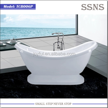 2015 new design freestanding Lucite Acrylic Bathtub TCB006P