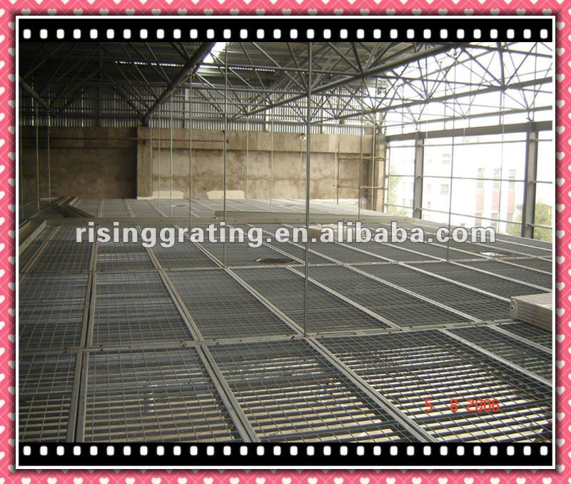 hot dip galvanized or painted steel flat grating ceiling joist