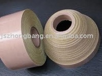 Conductive fabric PTFE coated adhesive tape
