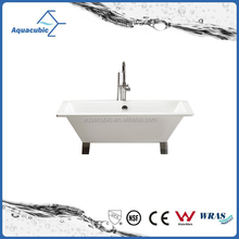 Simple design high quality small wonderful freestanding bathtub