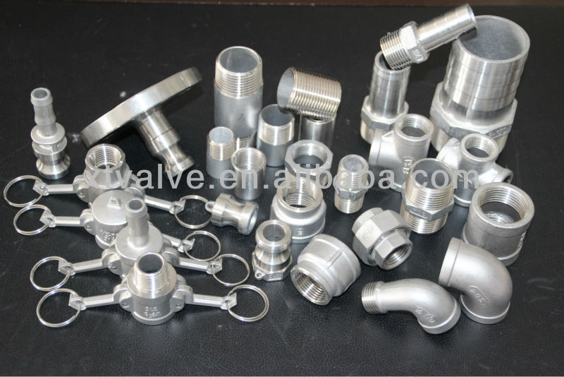 Stainless Steel BSP <strong>Fittings</strong>, Threaded End, SS304, ANSI 150