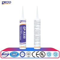 gp acid quick drying silicone sealant for glass