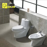ceramic siphonic s-trap two piece american standard toilet