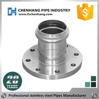 Factory price 201 durable stainless steel piercing pipe