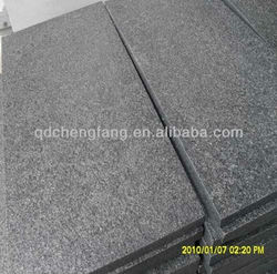 G654 china impala granite/g654 flamed brushed granite tile
