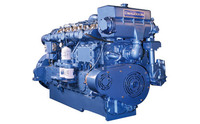 Good quality! Sale 330-883hp marine diesel engine, inboard engine , used for large board