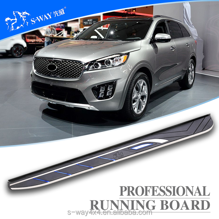 the latest OEM sorento running board for sorento nerf bar/auto side step