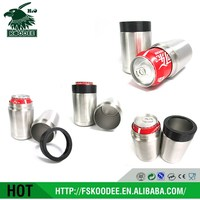 2016 Hot sale good quality vacuum cup 12OZ for 330ml cola can without seems inner household supplier BSCI