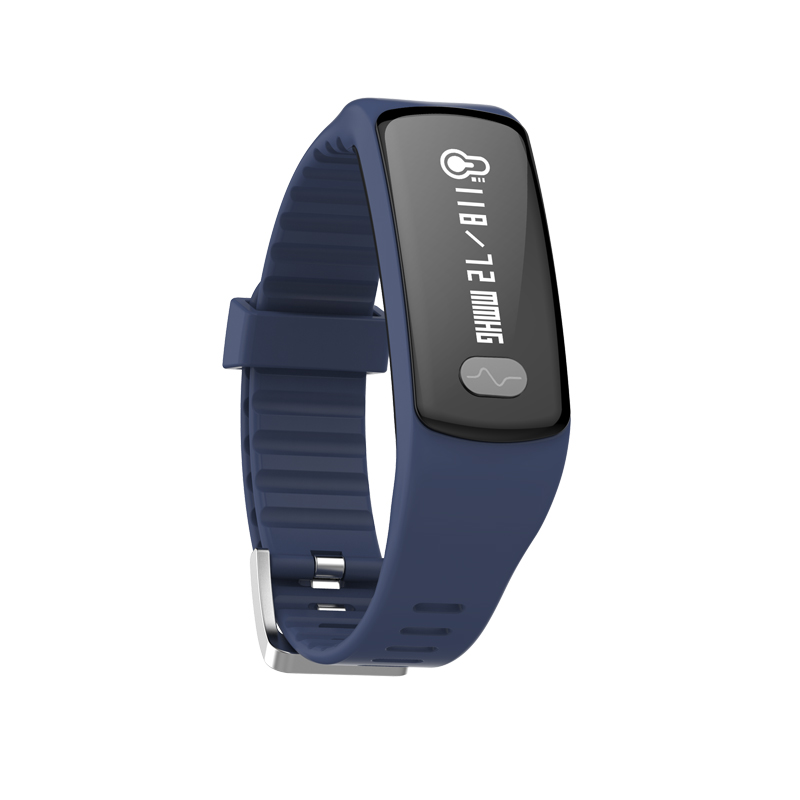 Factory Direct Selling HB07 Smart Bracelet By ECG + PPG (electrode + photoelectric) Test Heart Rate Monitoring