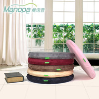 soft lint round seat cushion memory foam outdoor cushion