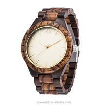 2017 new design all wood hand made wooden watches for women